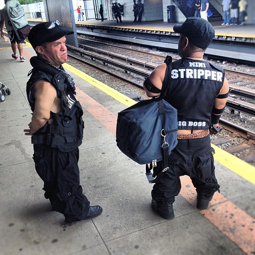 Bad news: missed my train stop. Good news: saw midget strippers while backtracking: | by surgery