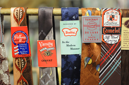 neck ties at amalgamated clothing and dry goods | by DIY Del Ray