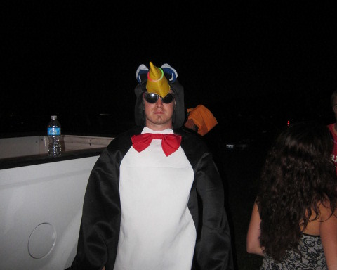 The Naughty Penguin...only comes out at night.... | by Summer Camp Music Festival