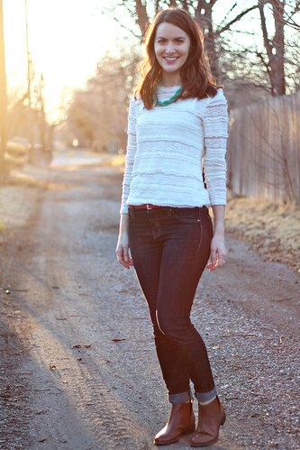 lace-shirt-jeans-1 | by thecreamtomycoffee