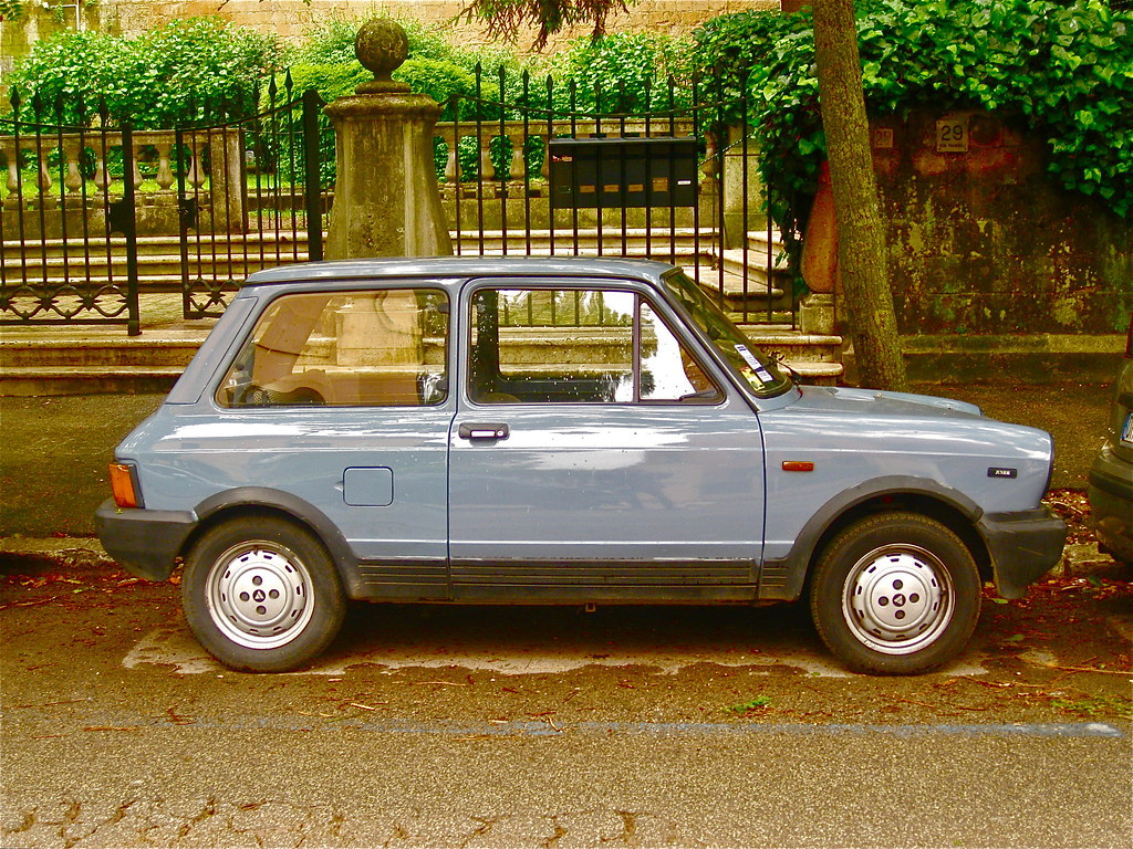 1984 AUTOBIANCHI A112 Junior Sixth Series | The new A112 rep… | Flickr
