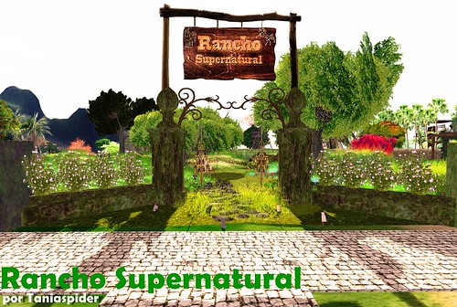 Rancho Supernatural - by Taniaspider | by Hacsa Karillion - Turistas do SL Travel Tips