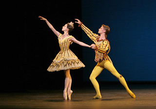 Jaimie Tapper and Rupert Pennefather in Birthday Offering © Dee Conway/ROH 2006 | by Royal Opera House Covent Garden