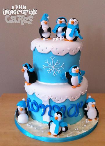 Happy Feet Cake