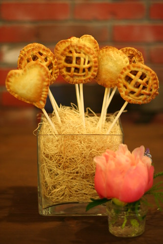 Pie Pops for Lovely Little Details launch party at Blu Bungalow in San Francisco | by Sweet Lauren Cakes