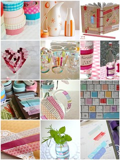 Things to do with washi tape / patterned masking tape | by iHanna