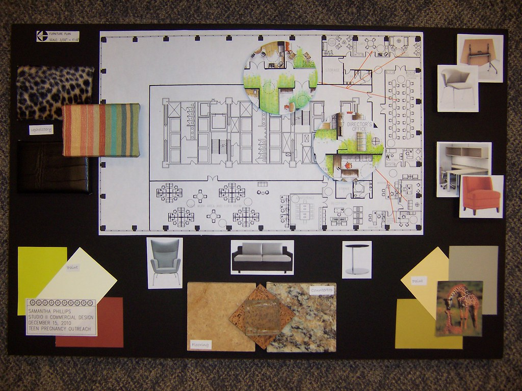 sample work interior design by mount mary university - Sample Of Interior Design