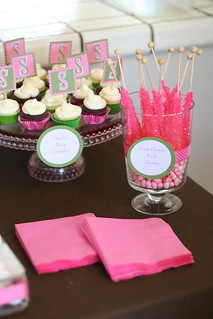 Custom Tags for Candy and Mini Cupcakes | by Sweet Lauren Cakes