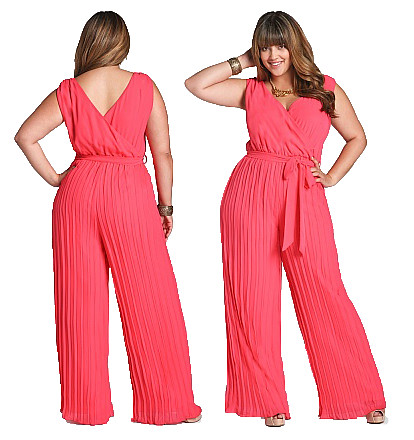 Plus Size Pleated Pant Jumpsuit Pleated Pant Ashley Stewar Flickr