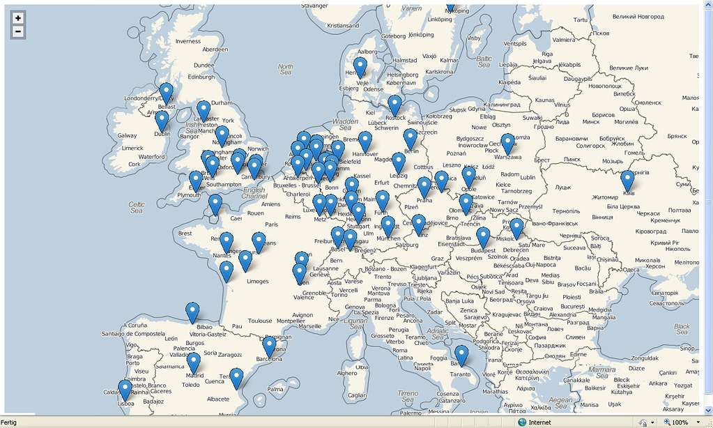 Gorilla Zoo Map Europe by Oliver Ramstedt Have a look a Flickr