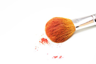 Makeup Brush on White Background | by Trostle