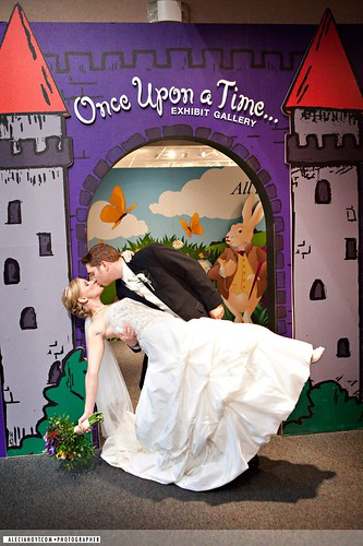 Once Upon a Time couple kiss | by The Magic House