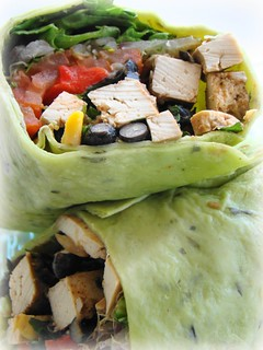 Southwestern Tofu Wrap | by Vegan Feast Catering
