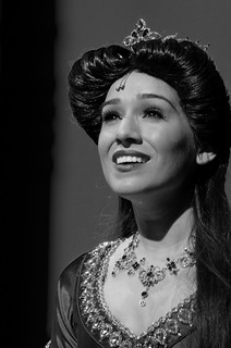 Monochrome Monday Jasmine From Aladdin The Musical Spectacular | by Kent Freeman