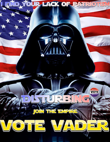Vote Vader | by Falconbeard