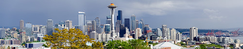 Downtown Seattle (pano) | by Eric Kilby