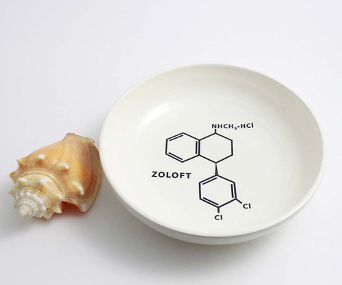 Zoloft Molecule Bowl | by lltownley