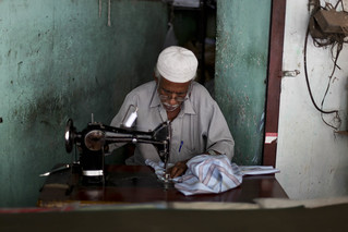 Tailor at work | by Scalino
