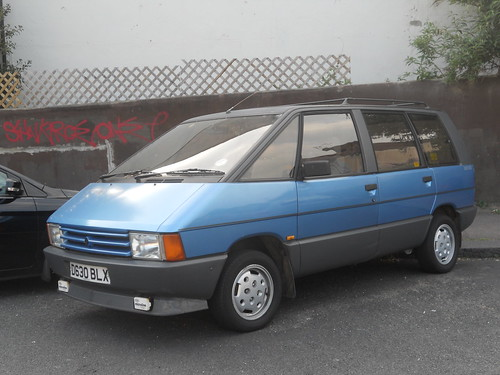 1987 renault espace this thing was totally mint it looked flickr. Black Bedroom Furniture Sets. Home Design Ideas