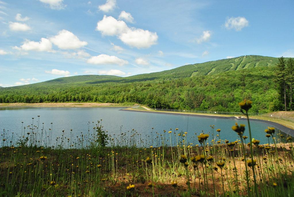 Green Mountain At Fox Run -The Logging Trail Walk