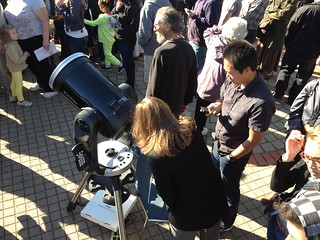 Chabot Space & Science Center 2012 Transit of Venus Viewing Party | by kqedquest
