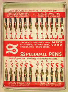 Speedball 24 Pen Card | by karen horton