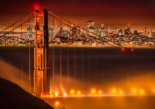 Magical Fog in San Francisco over the Golden Gate Bridge | by Stuck in Customs