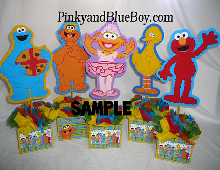 ... personalized-sesame-street-birthday-party-decorations-ideas -centerpieces- & personalized-sesame-street-birthday-party-decorations-ideau2026 | Flickr