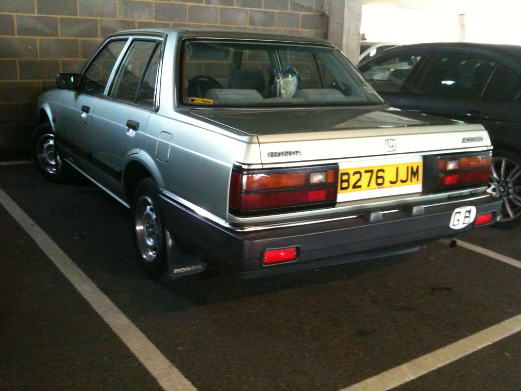 1985 HONDA 4AX ACCORD AUTO   This accord is immaculate. No d…   Flickr