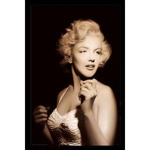 art horizon 26269 framed posters marilyn monroe spotlight by fleurial