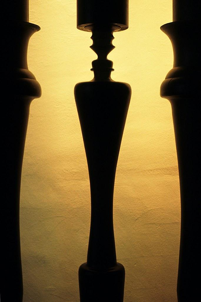Columns With Rubins Vase Illusion Captured On Fuji Sensia Flickr