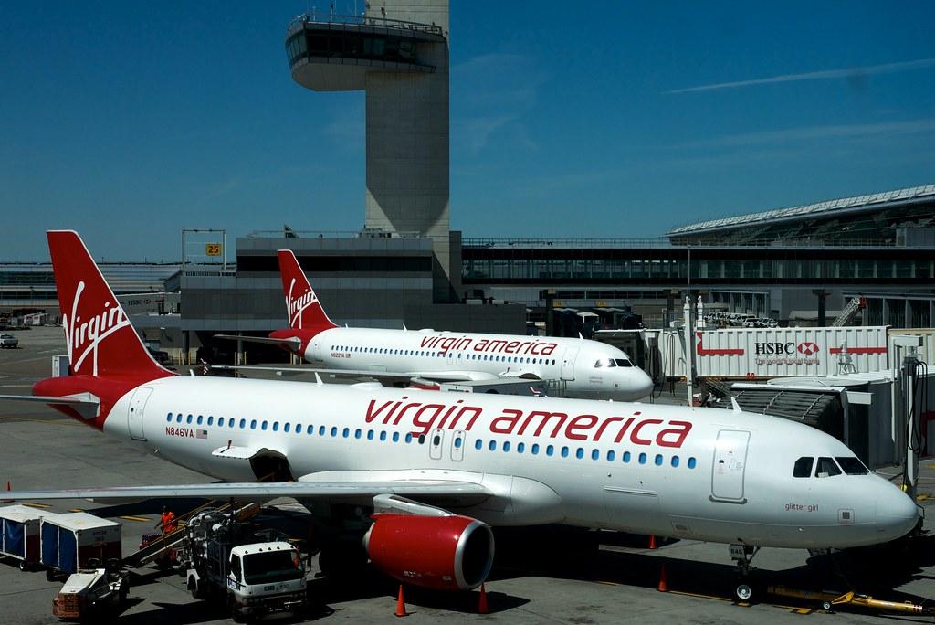 نتيجة الصورة ل Virgin America.
