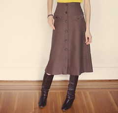 square - Petite Josette brown skirt by Brice Ferre Photogr… | Flickr