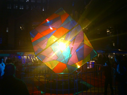 vivid cube light thing | by Philippe and Angie