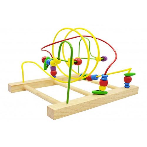 Đồ chơi gỗ - Kỹ Năng - Bộ luồn - Imazing 1