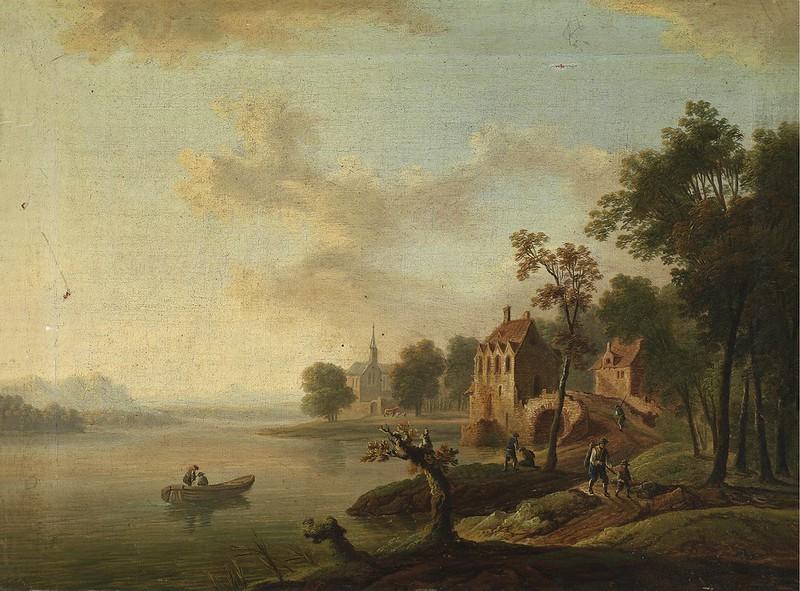 Christian Georg Schütz - Landscape