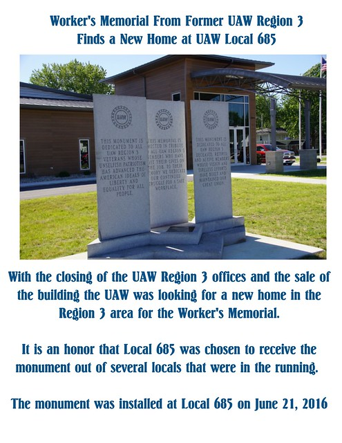 Reg 3 Memorial
