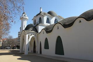 Masia Freixa, Parc Sant Jordi, seu de l'antic Conservatori de Música de Terrassa