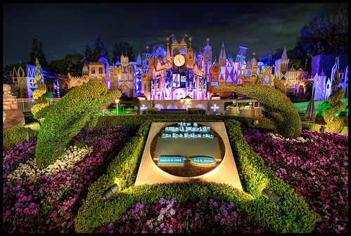 4:45 A.M. at Small World - One More Disney Day #22 - Disneyland | by Gregg L Cooper
