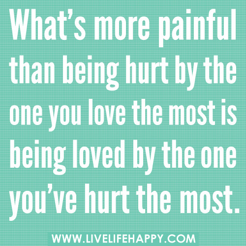 Whats More Painful Than Being Hurt By The One You Love T Flickr