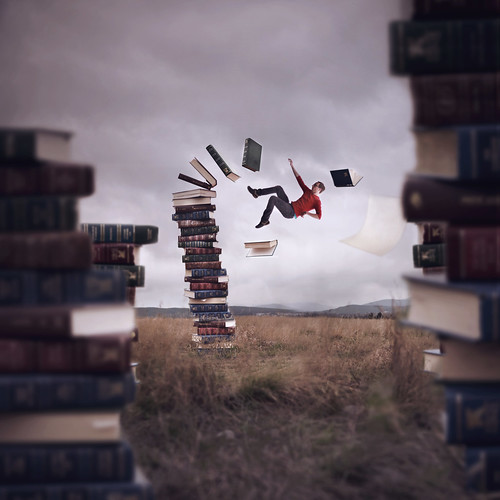 Falling Into A Good Book | by Boy_Wonder