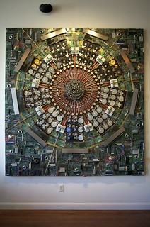 "Hard Drive Universe Exhibition: ""Stanford Vacuum Chamber"" 