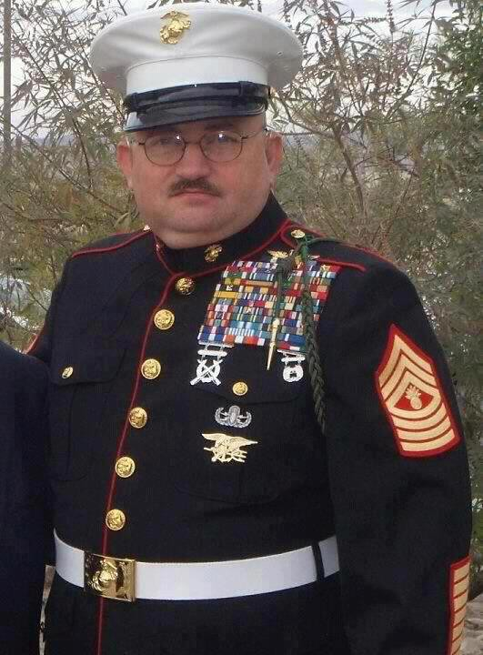ya this guy is totally legit master gunnery sergeant of flickr