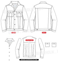 denim jacket template design superholik com blog 2012 05 3 flickr
