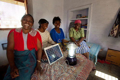 Participants from Liberia and Malawi at the end of their six-month solar engineering course | by UN Women Gallery