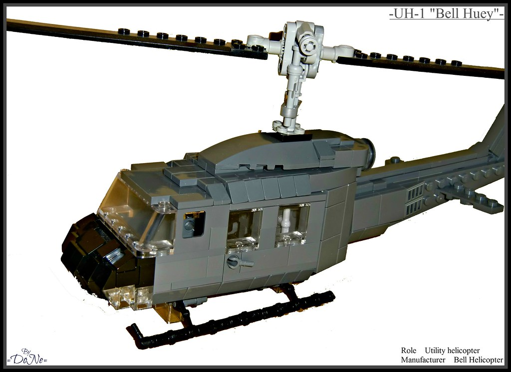 """Lego -UH-1 """"Bell Huey""""-   Just wanned something to do, so I …   Flickr"""