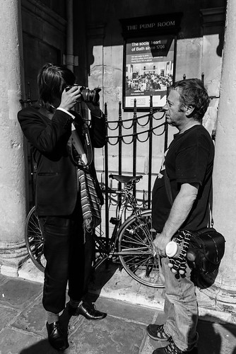 The Pianist taking a photograph of the photographer | by Wayne Paradise