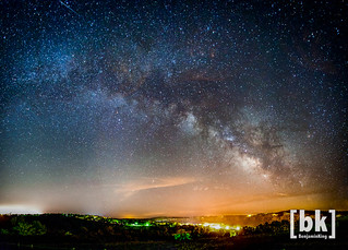 Milky Way over Cotter, Ar. | by benjaminking1