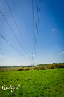 Out walking - Pylons near Scorton | by woodfordp