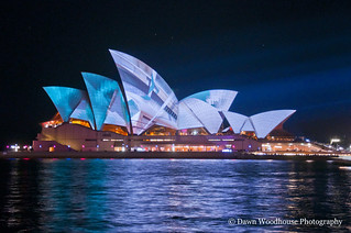 Opera house at Vivid | by Dawn Woodhouse